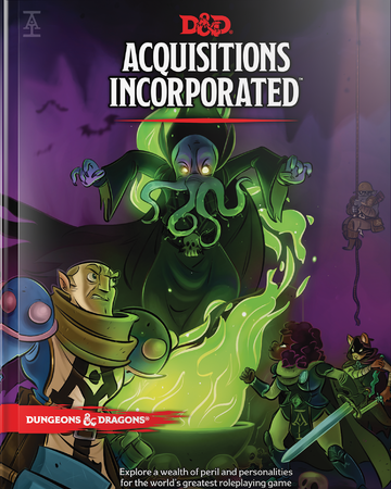 Dungeons & Dragons 5th Edition - Acquisitions Incorporated