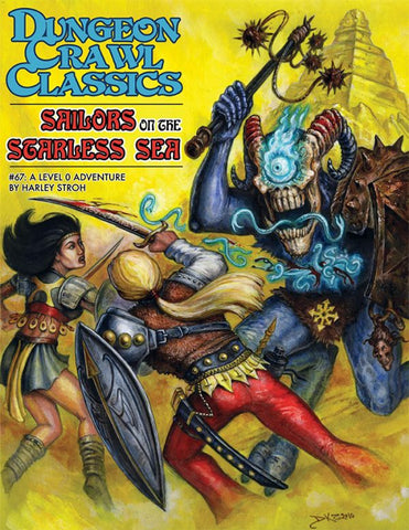 Dungeon Crawl Classics #67: Sailors on the Starless Sea (Pocket Size)