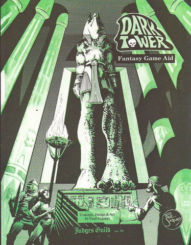 Dark Tower: Judges Guild Classic Reprint D&D 1E Adventure