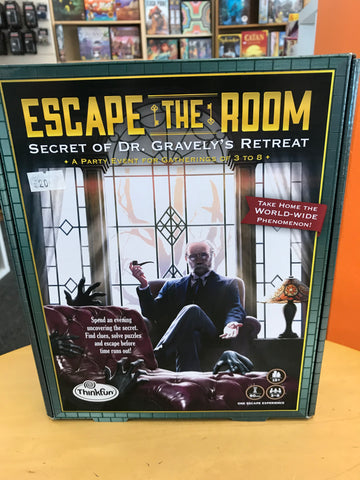 Escape the Room - Dr Gravely's Retreat