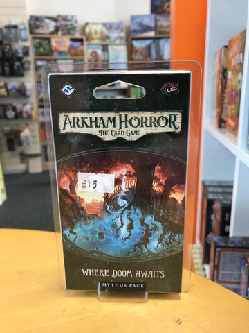Arkham Horror LCG - Where Doom Awaits Mythos Pack