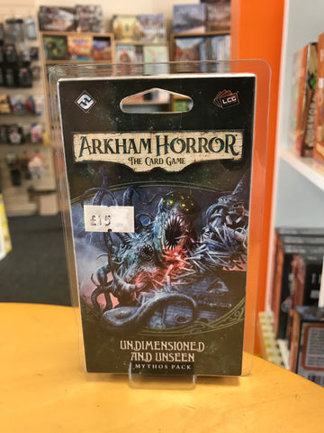 Arkham Horror LCG - Undimensioned and Unseen Mythos Pack