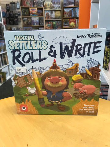 Imperial Settlers Roll Write