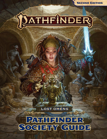 Pathfinder Lost Omens - Society Guide