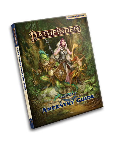 Pathfinder 2nd Edition Lost Omens - Ancestry Guide