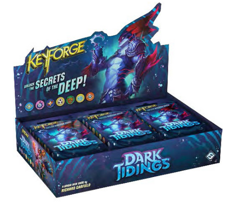 KeyForge - Dark Tidings Archon Deck Display