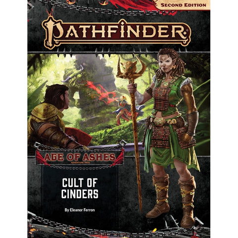 Pathfinder Adventure Path #146: Cult of Cinders (Age of Ashes 2 of 6)