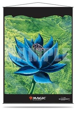 Black Lotus Wall Scroll