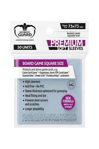 UG Premium Soft Sleeves Square (50)