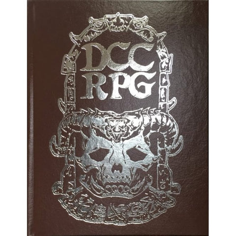 Dungeon Crawl Classics Rulebook - Silver Demon Skull Edition
