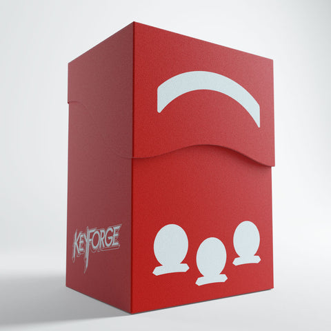 Keyforge Gemini Deck Box Red
