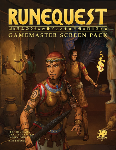 RuneQuest RPG - Gamemaster Screen Pack (Free PDF Included!)