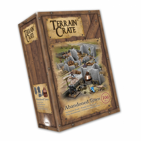 Mantic Games - Terrain Crate: Abandoned Town