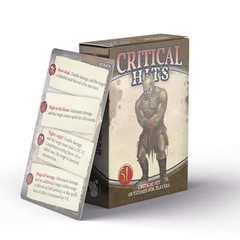 Dungeons & Dragons 5th Edition - Critical Hit Deck for Players