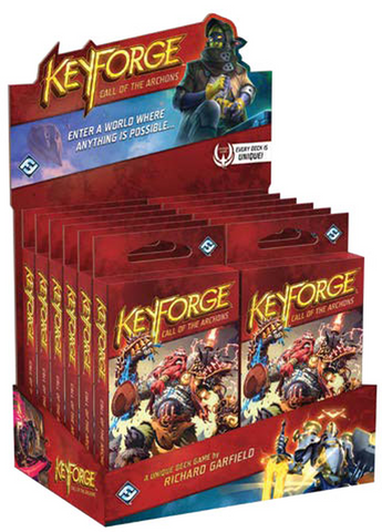 Keyforge: Call of the Archons Display