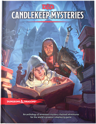 Dungeons & Dragons 5th Edition - Candlekeep Mysteries (Standard Cover)