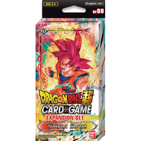 DBS Expansion Set- Saiyan Surge BE09