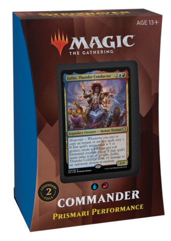 Strixhaven Commander Deck - Prismari Performance