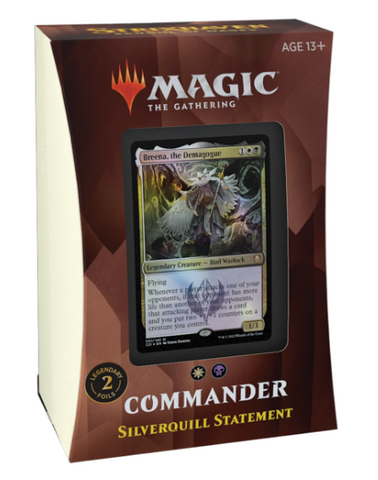 Strixhaven Commander Deck - Silverquill Statement