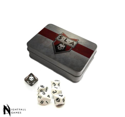 SLA Industries 2nd Edition RPG Limited Edition Dice Set