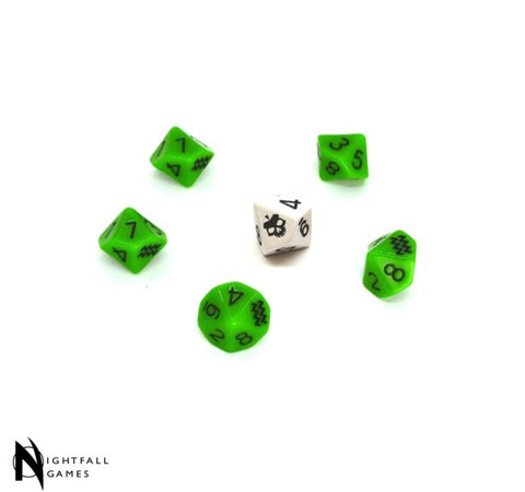 SLA Industries 2nd Edition RPG Dice Set