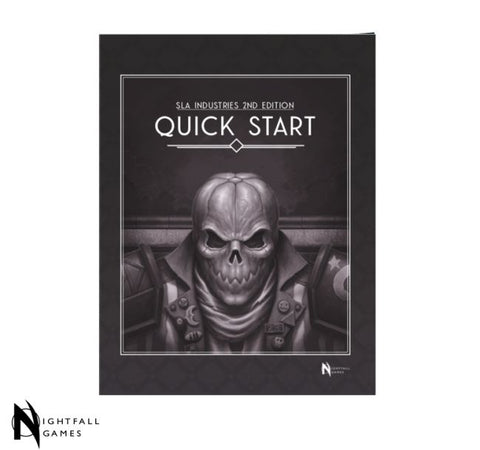 SLA Industries 2nd Edition RPG Quickstart Rulebook