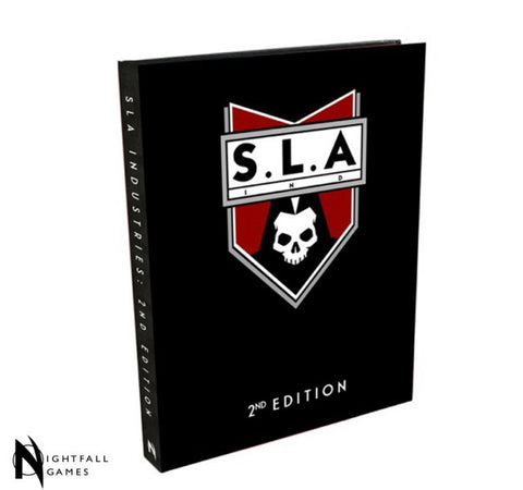 SLA Industries 2nd Edition RPG Special Edition Rulebook