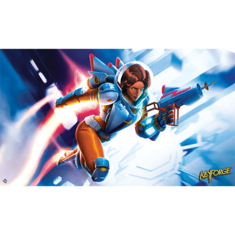 KeyForge - Tactical Officer Moon Playmat