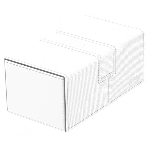 Twin Flip n Tray Deck Case 200+ White