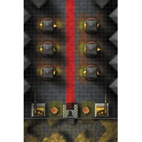 WizKids Throne Room Standard 1-Inch Grid