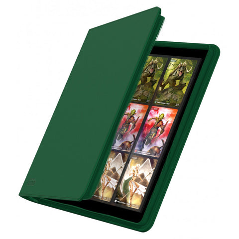 Ultimate Guard Quad Row Zipfolio 480 - Green