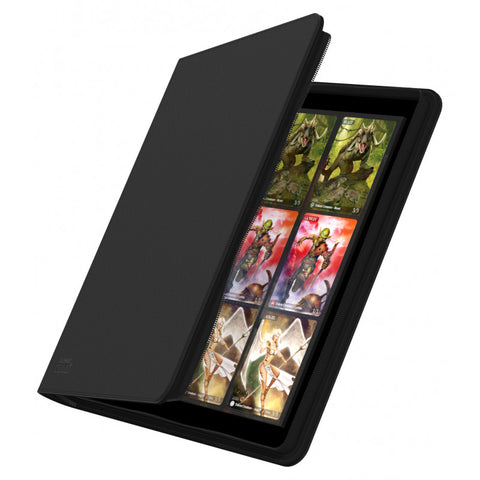 Ultimate Quadrow Zip Folio 480 Black