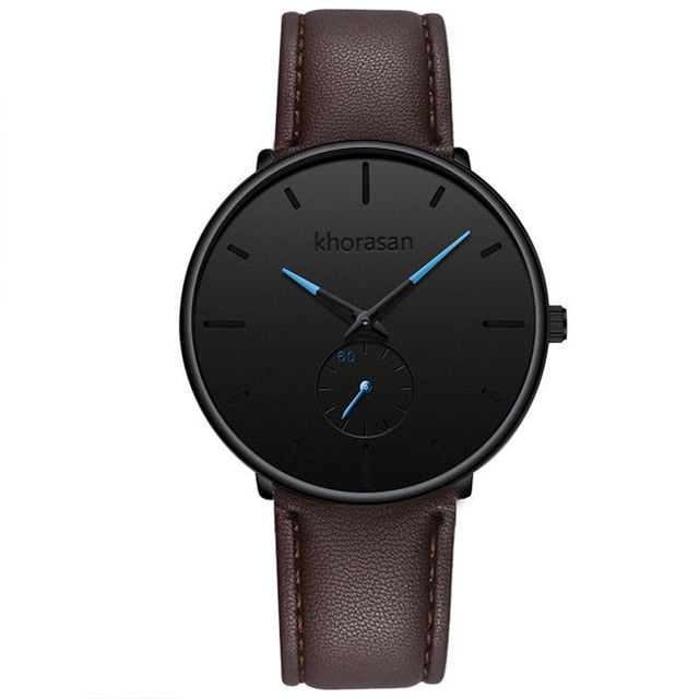 Minimalist Mens Fashion Casual Watches for Men Business Clock Male Stainless Steel Mesh Belt Simple Quartz Watch reloj hombre