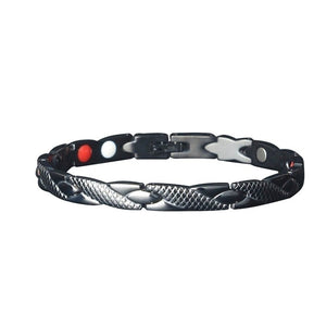 New Fashion Hematite Strong Magnetic Therapy Health Bracelet Hypoallergenic Weight Loss Bracelet New Health Care Jewelry