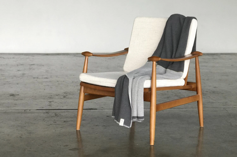 GRAY DIVIDE ECO-FRIENDLY THROW BLANKET