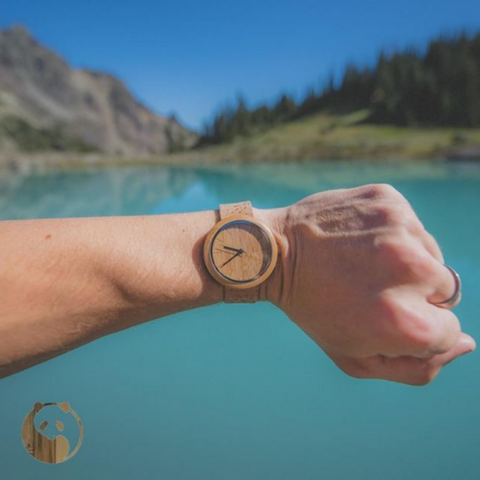 watch gift made of natural materials