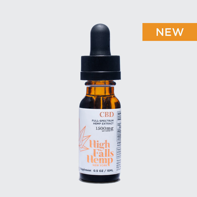 Full-Spectrum Tincture Mini – 1500mg