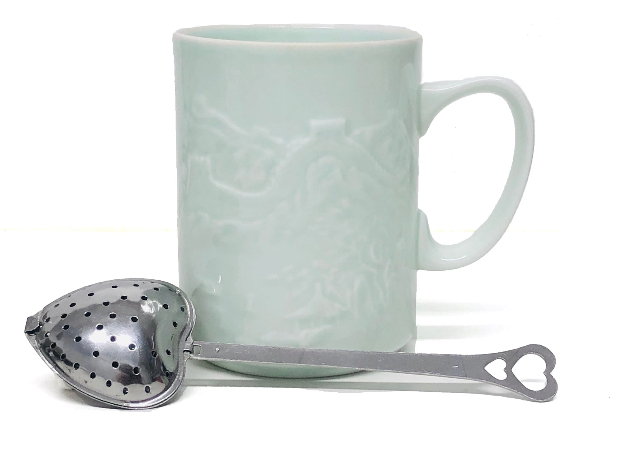 Heart Shaped Tea Strainer