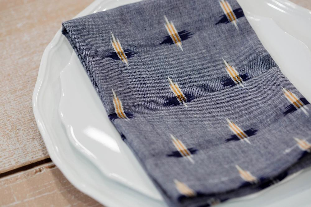 Cloth Napkins- Chambray Double- Set of 4