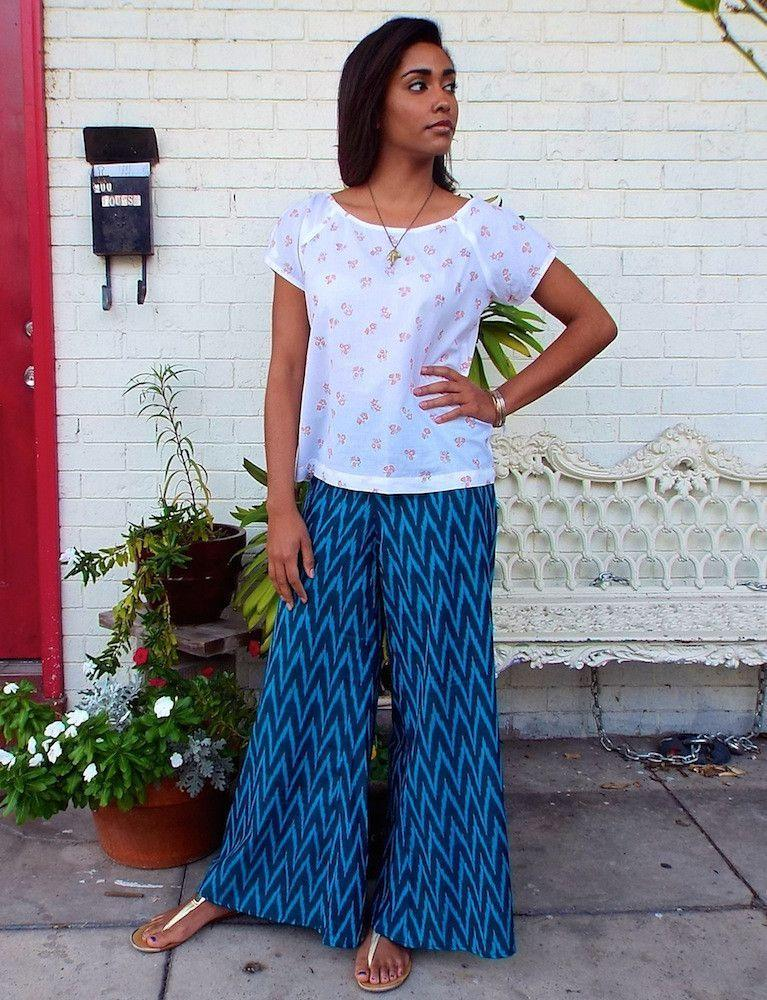 Chevron Pants
