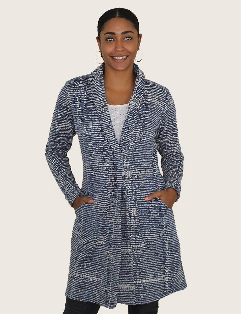 The Harmonia Organic Fleece Cardigan