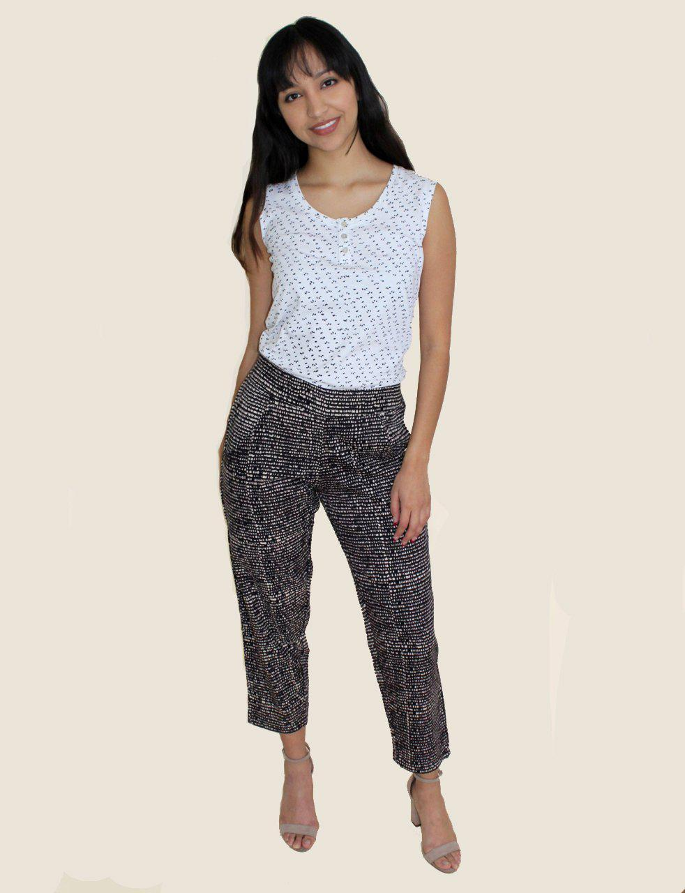 Midnight Dusk Crop Pants- Organic Cotton