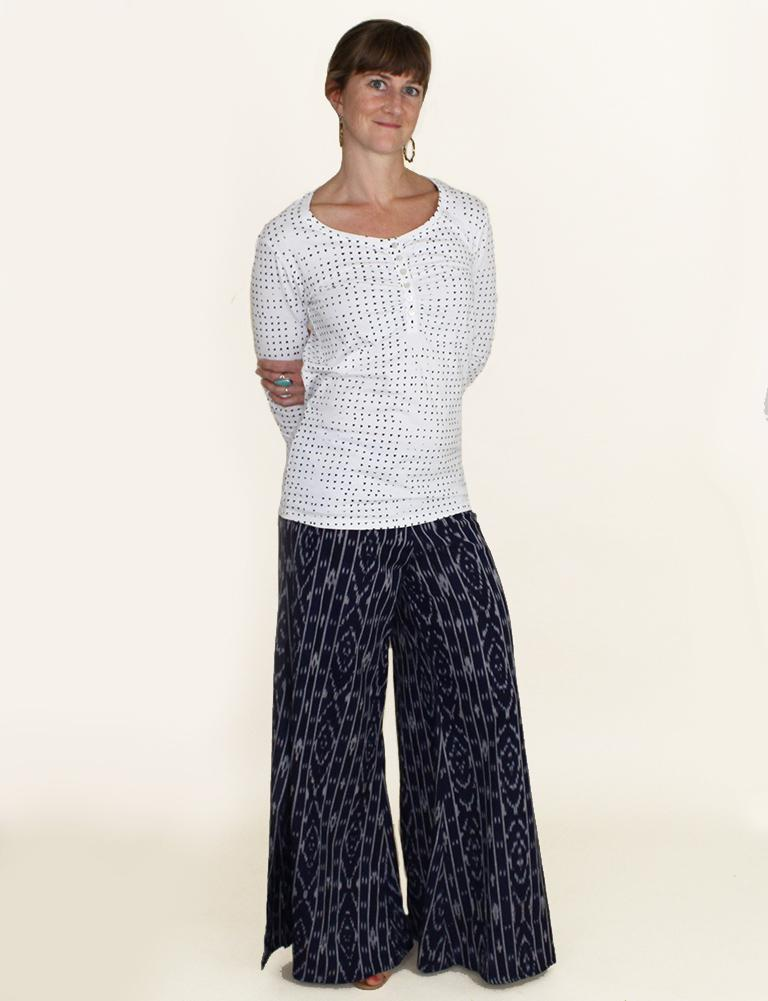 Nautical Navy Pants