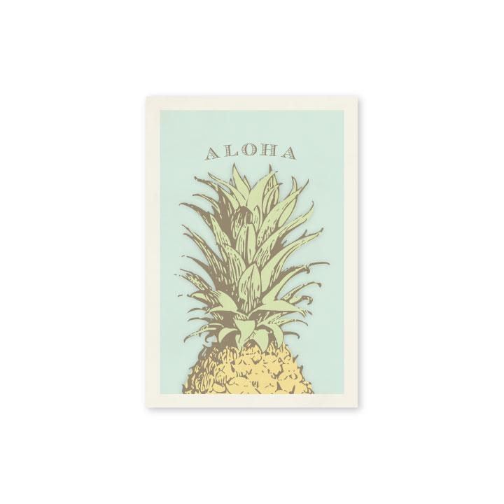 Vintage Pineapple Postcard