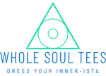 Whole soul tees triangle mind body soul T-shirt store sells custom designs that spiritually inspire using quotes, astrology, metaphysical and yoga tee shirt designs. We also offer many of the designs in sweatshirts and hoodies. Dress your inner-ista logo