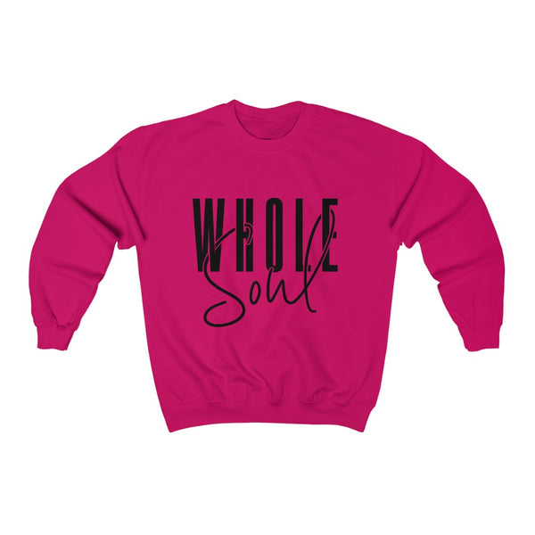 Whole Soul Sweatshirt (Black Text)