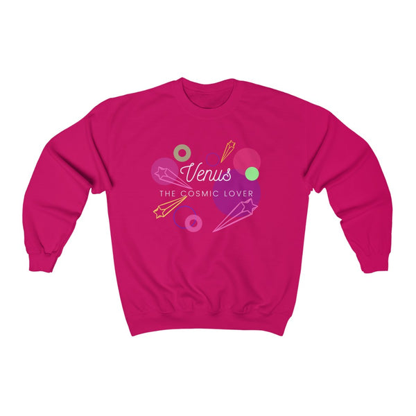 Venus The Cosmic Lover Sweatshirt (White Text)