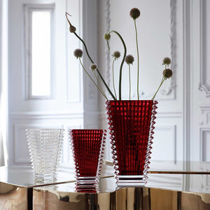 EYE VASE ROUGE OVALE (SMALL) BACCARAT