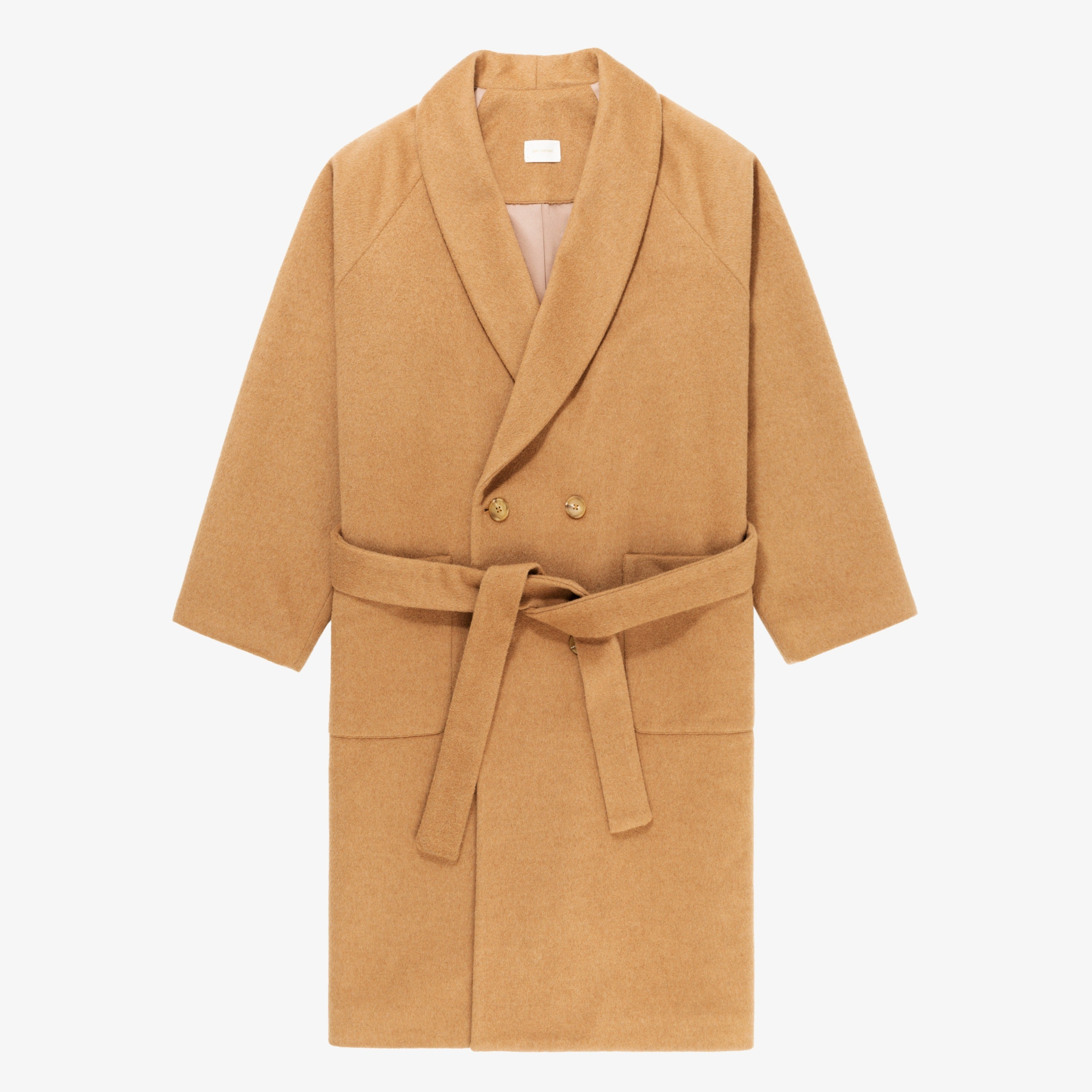 Camel Hair Top Coat