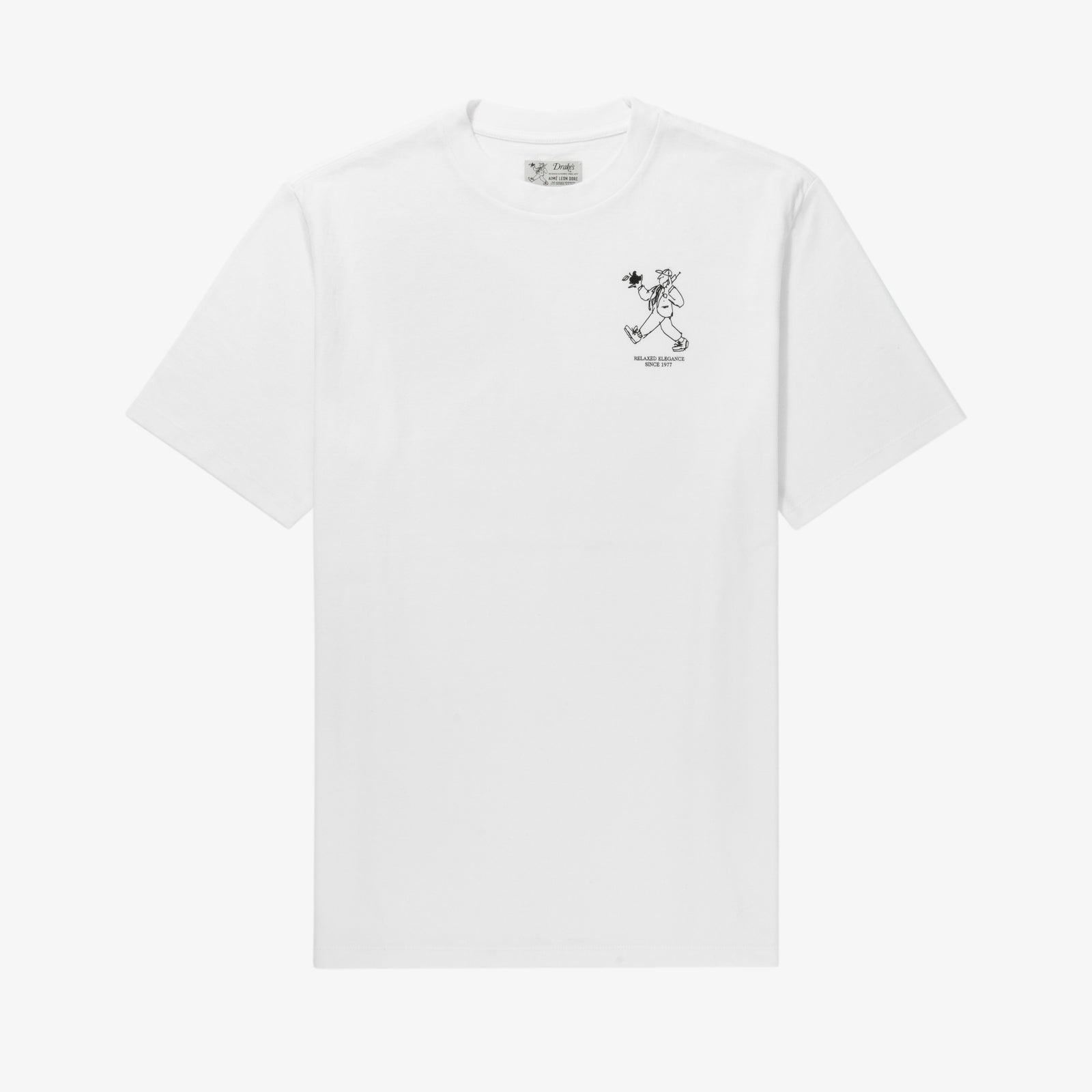 ALD / Drake's Graphic Tee
